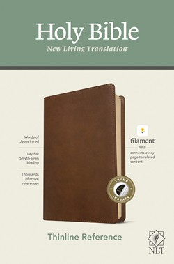 NLT Thinline Reference Bible, Filament Enabled Edition