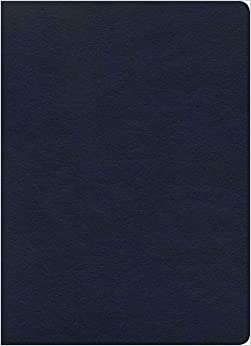KJV Study Bible, Full-Color, Navy LeatherTouch