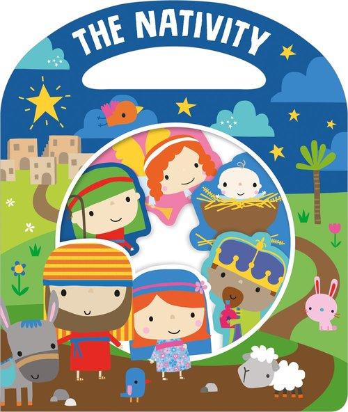 Busy Windows: The Nativity