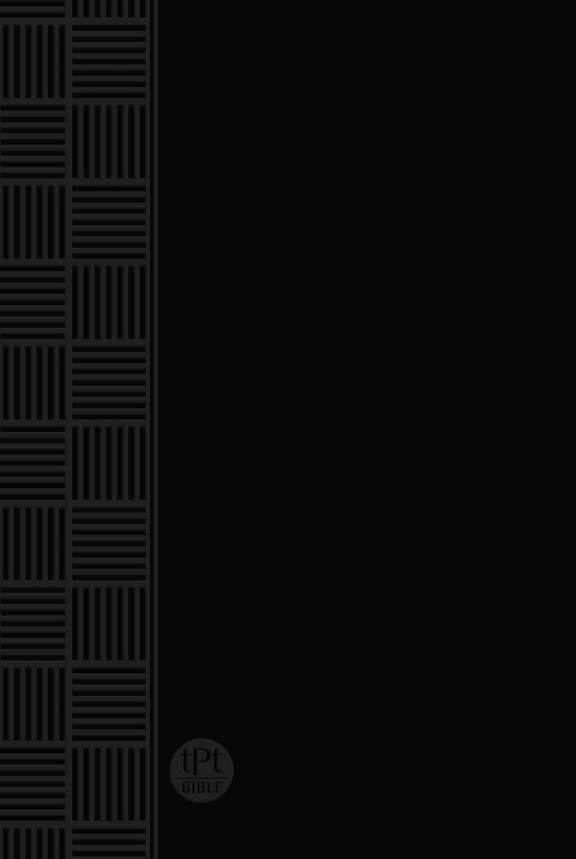 Passion Translation 2020 Edition, Black