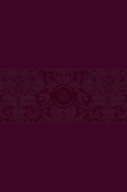 Passion Translation NT 2020 Edition, Burgundy, Large Print