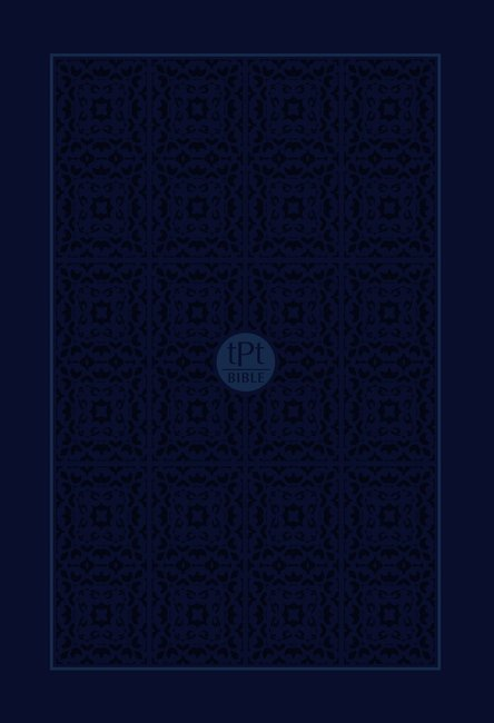 Passion Translation NT 2020 Edition, Navy, Compact