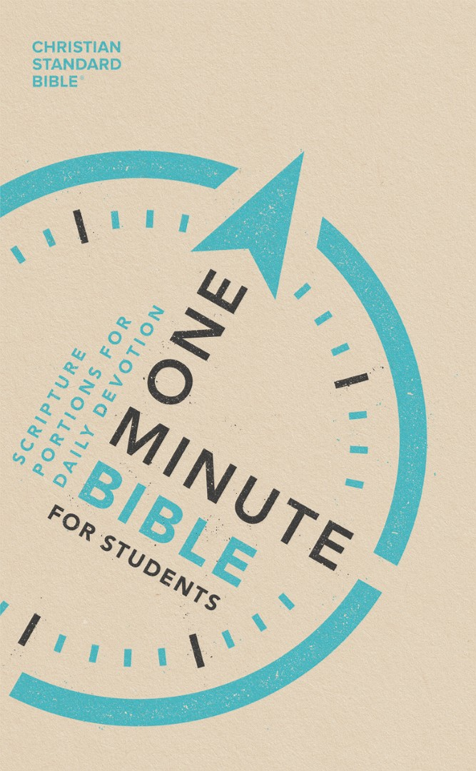 CSB One-Minute Bible for Students