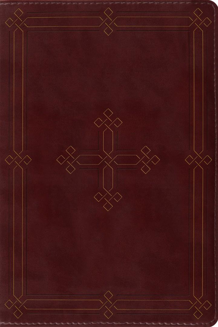 ESV Study Bible, Personal Size, Crimson