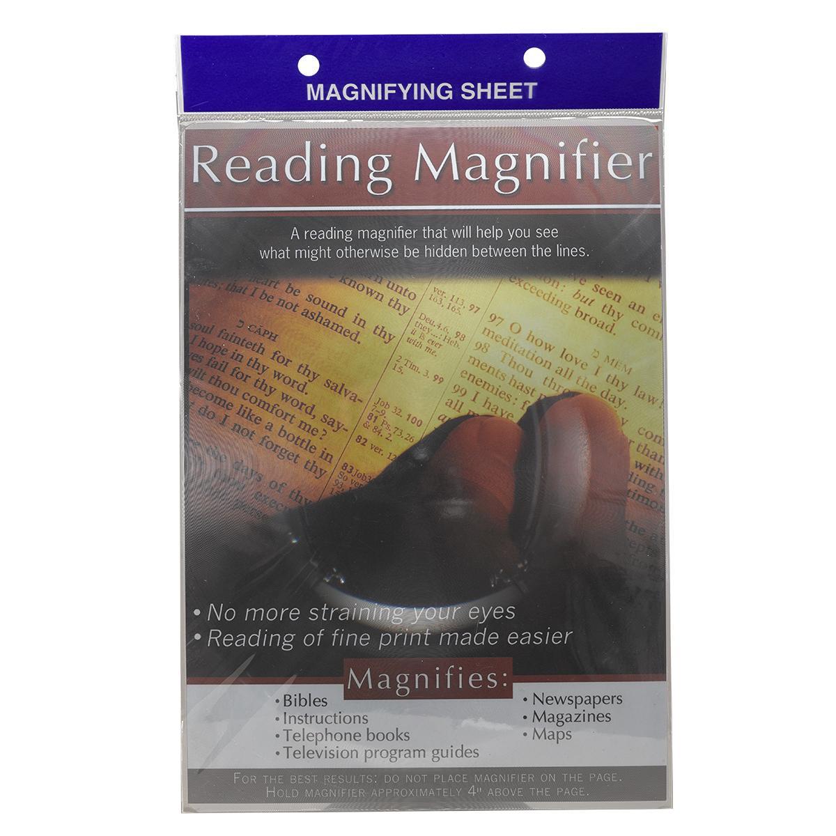 Magnifying Sheet - Page