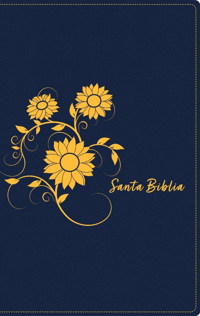 Santa Biblia NTV, Edición zíper, Girasol (SentiPiel)