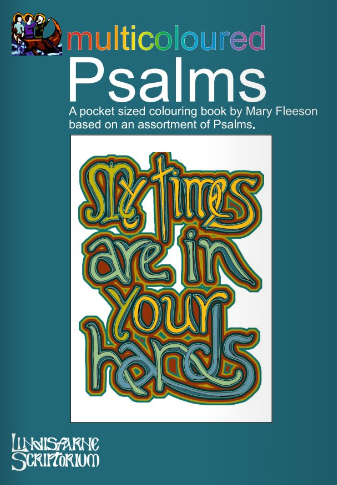 Multicoloured Psalms Colouring Book