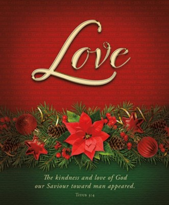 Love Advent Large Bulletin (pack of 100)