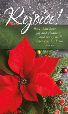 Rejoice! Christmas Bulletin (pack of 100)
