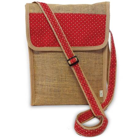 Upcycled Hessian Sling bag, Handmade in South Africa
