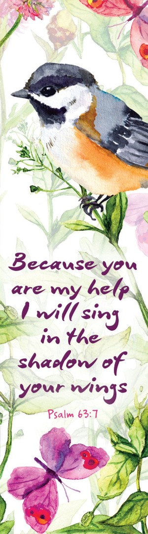 Because You Are My Help Bookmark (Pack of 10)