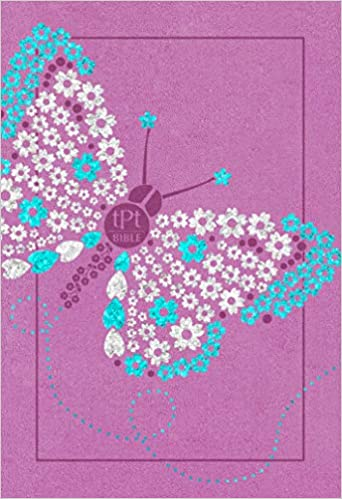 Passion Translation New Testament Youth Girls Butterfly