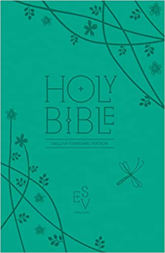 ESV Holy Bible, Anglicised Compact Edition with Zip, Teal