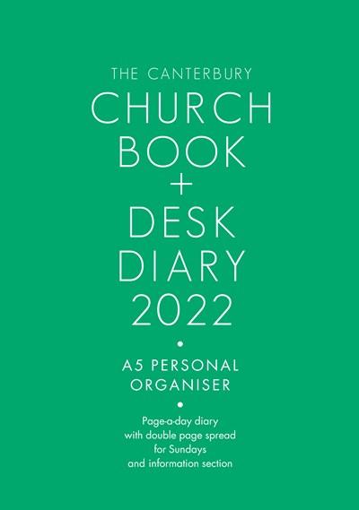 Canterbury Church Book & Desk Diary 2022 A5 Edition