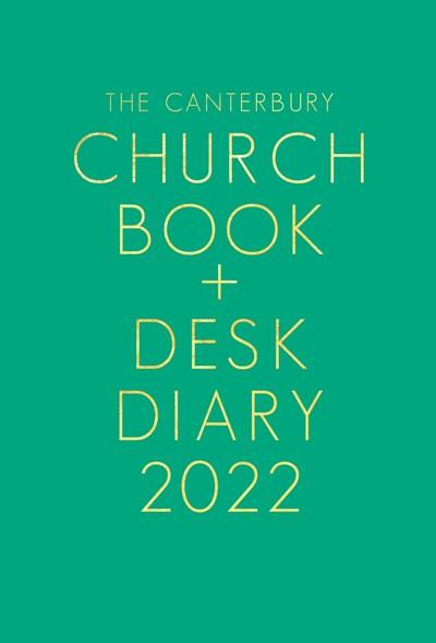 Canterbury Church Book & Desk Diary 2022