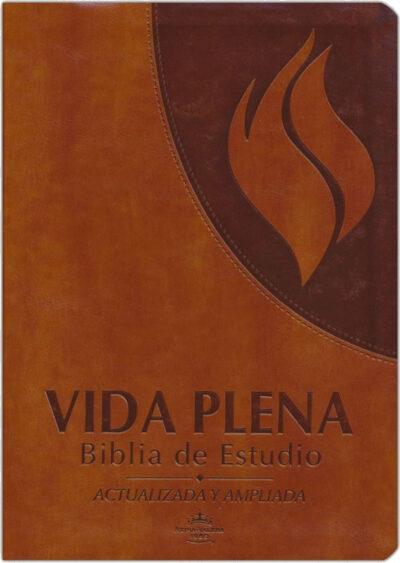 Biblia de Estudio Vida Plena – Flex Cover Marron