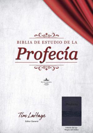 Biblia de Estudio de la Profecía, Negro con Índice