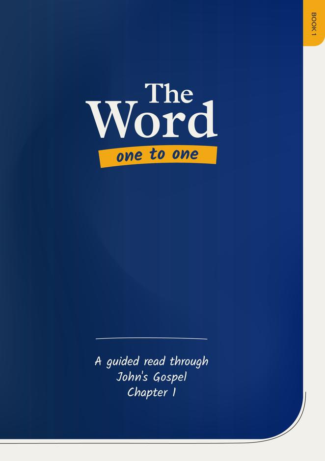 The Word One to One Book 1
