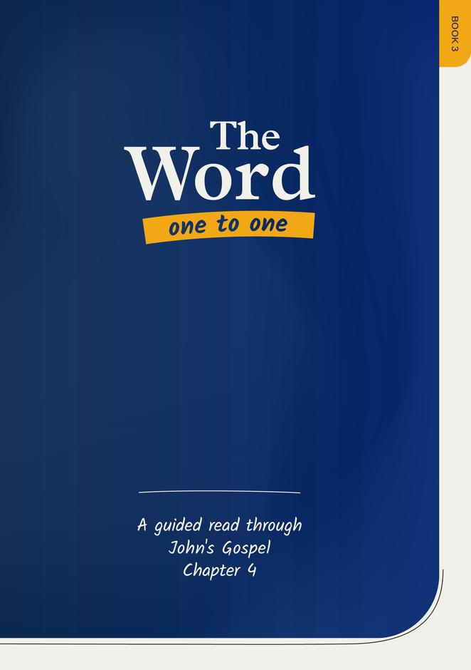 The Word One to One Book 3