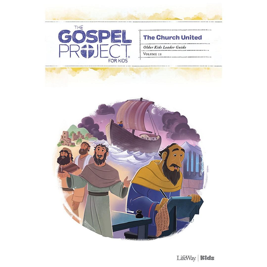 Gospel Project: Older Kids Leader Guide, Spring 2021