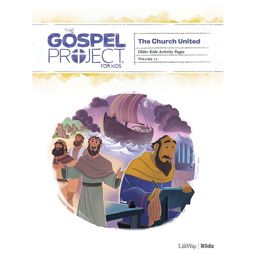 Gospel Project: Older Kids Activity Pages, Spring 2021
