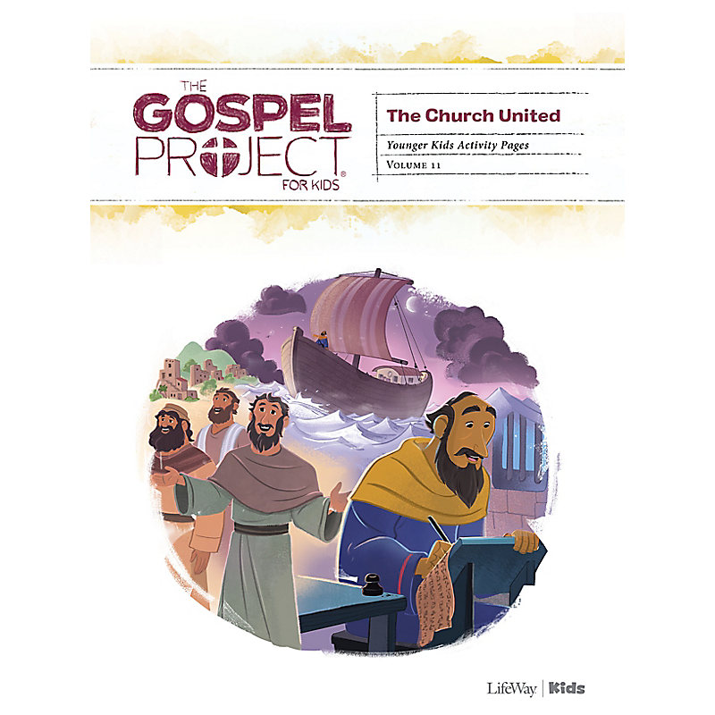 Gospel Project: Younger Kids Activity Pages, Spring 2021