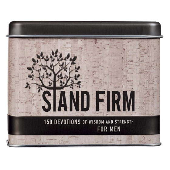 Stand Firm Card Tin