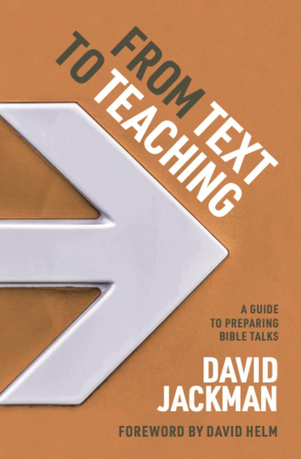 From Text to Teaching