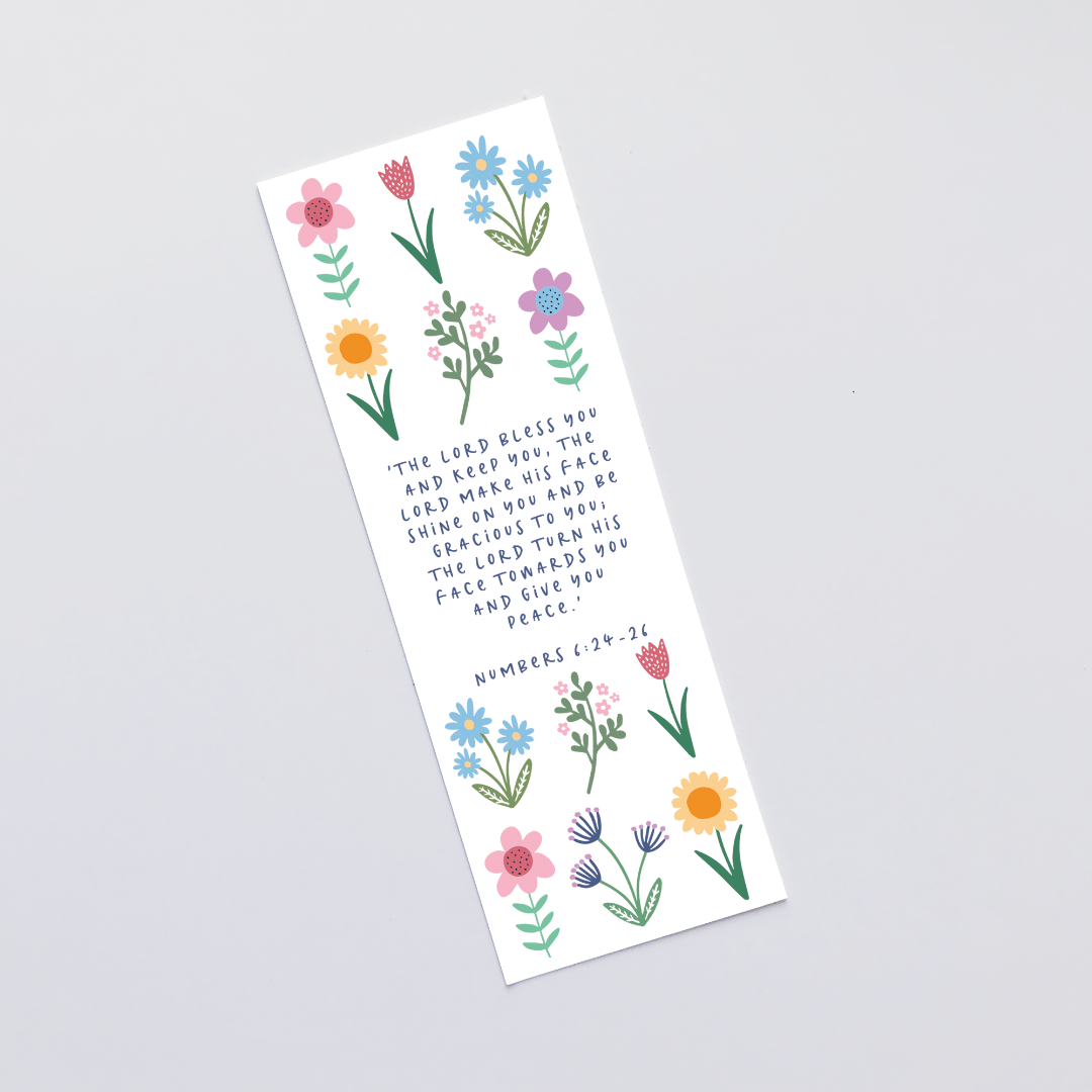 The Lord Bless You (Spring) Bookmark