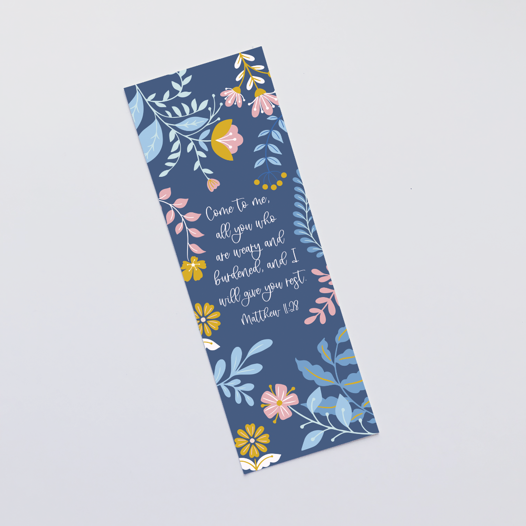 Come to Me (Blooms) Bookmark
