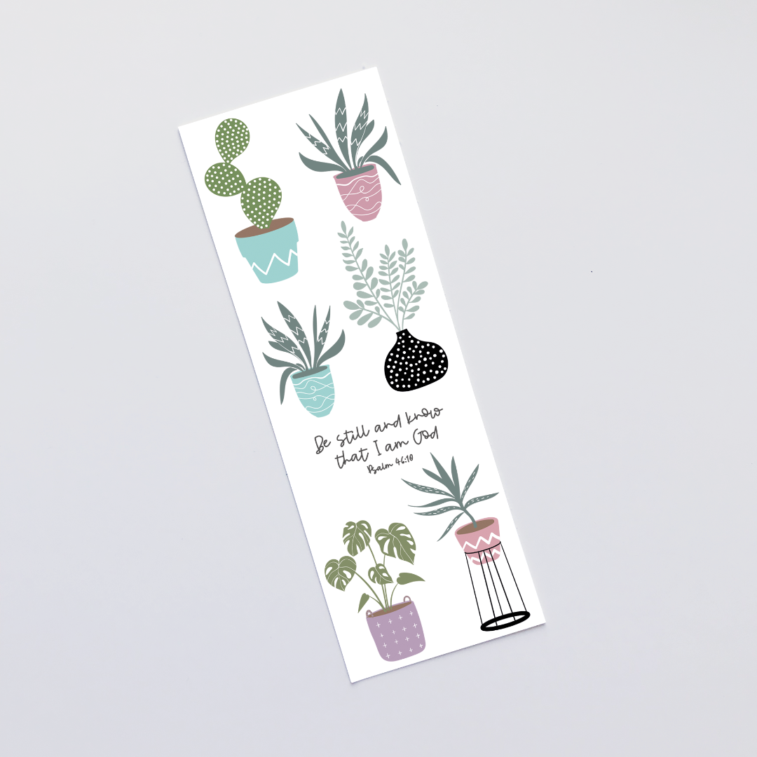 Be Still (House Jungle) Bookmark