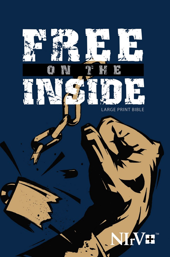 NIRV Free On The Inside Large Print Bible