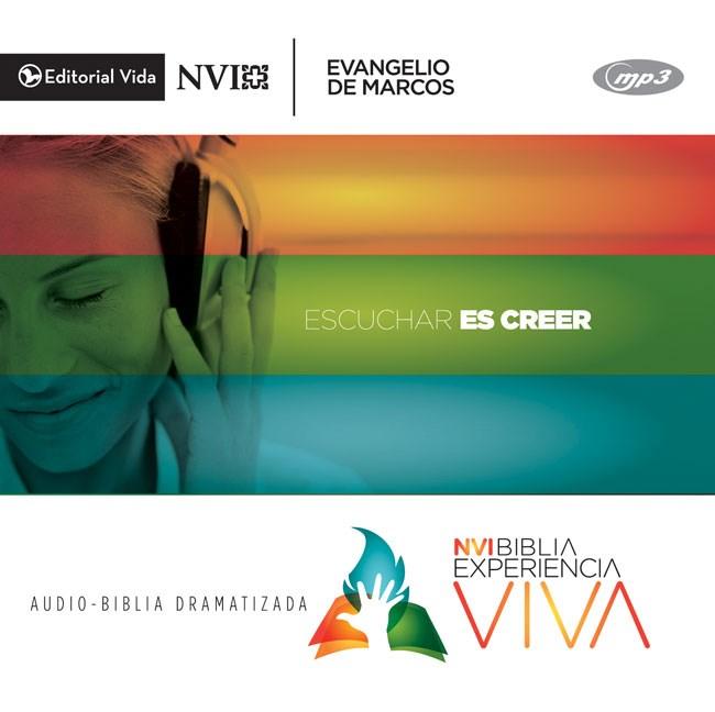 NVI Experiencia Viva: Evangelio De Marcos, Audio Mp3 Cd