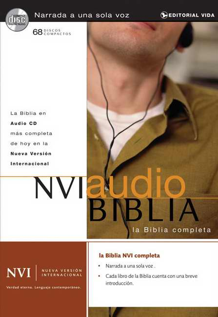NVI Biblia Audio Cd