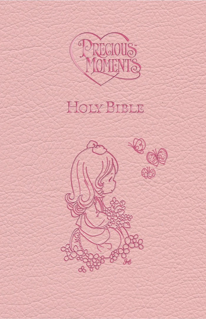 ICB Precious Moments Holy Bible - Pink Edition