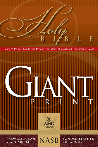 NASB Giant Print Handy-Size Reference Bible