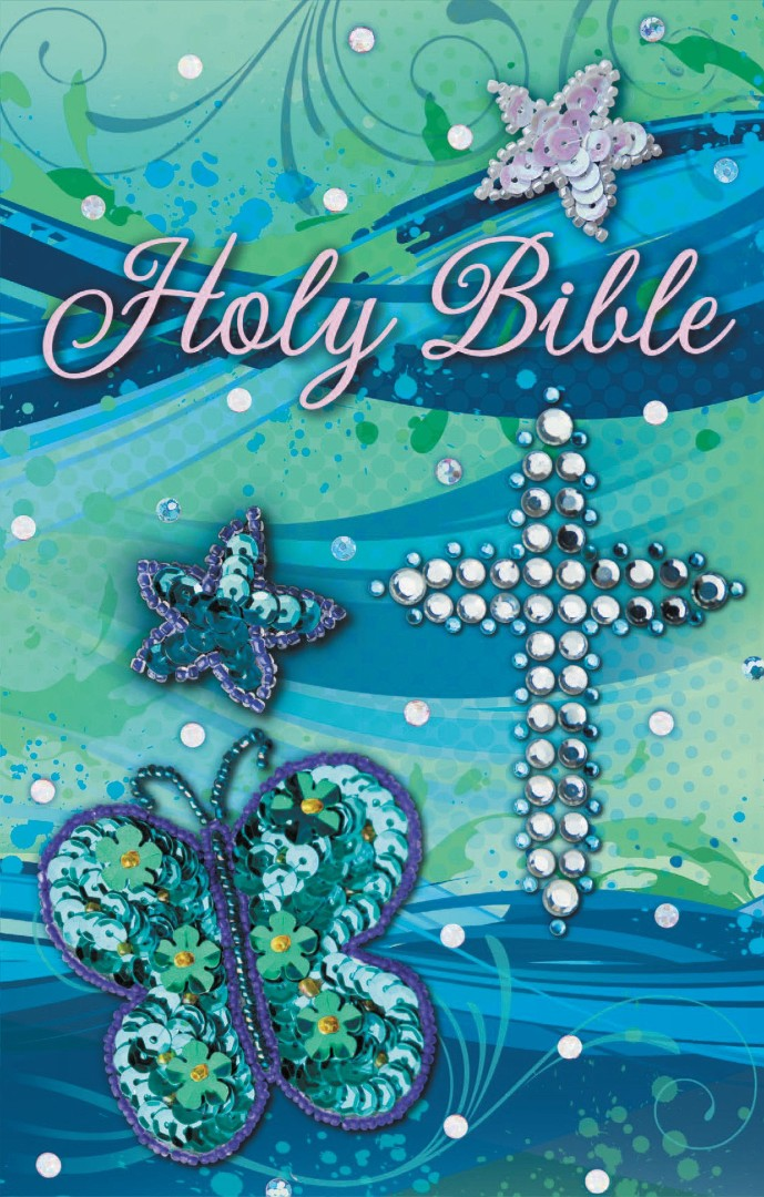 ICB Sequin Bible - Teal