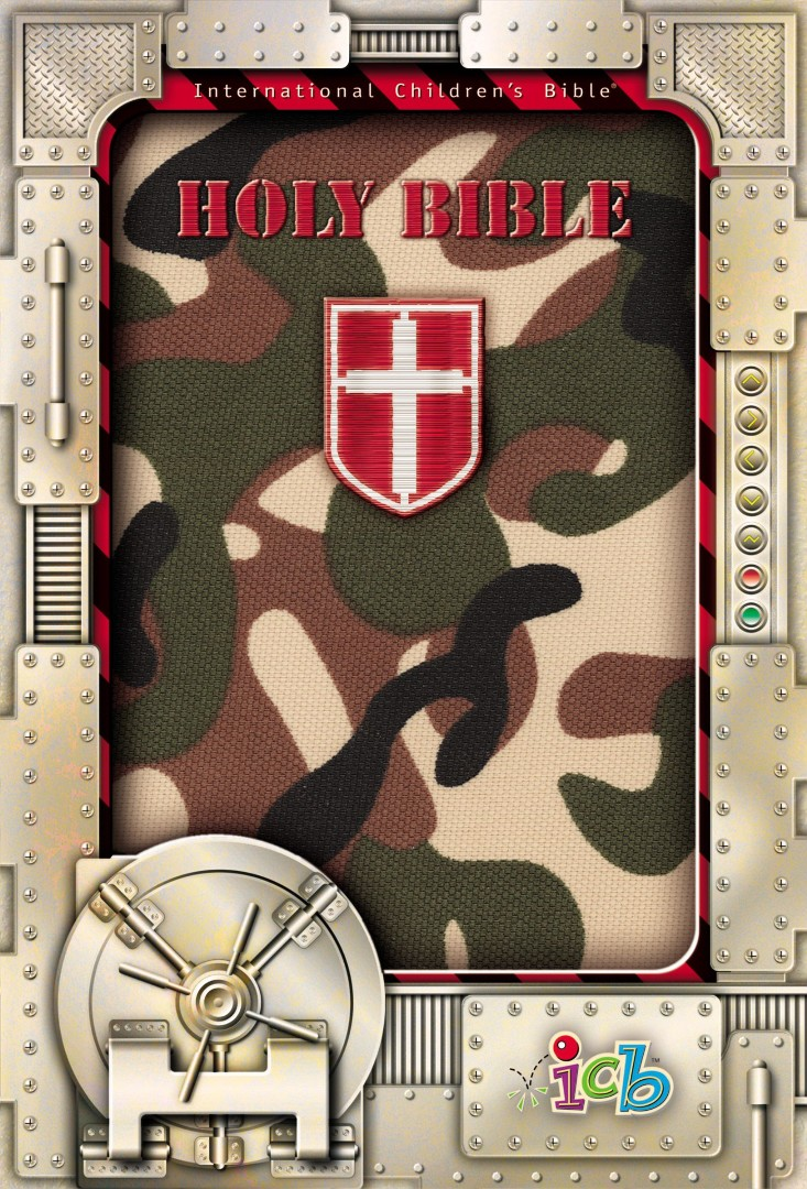 ICB Compact Kids Bible Camouflage