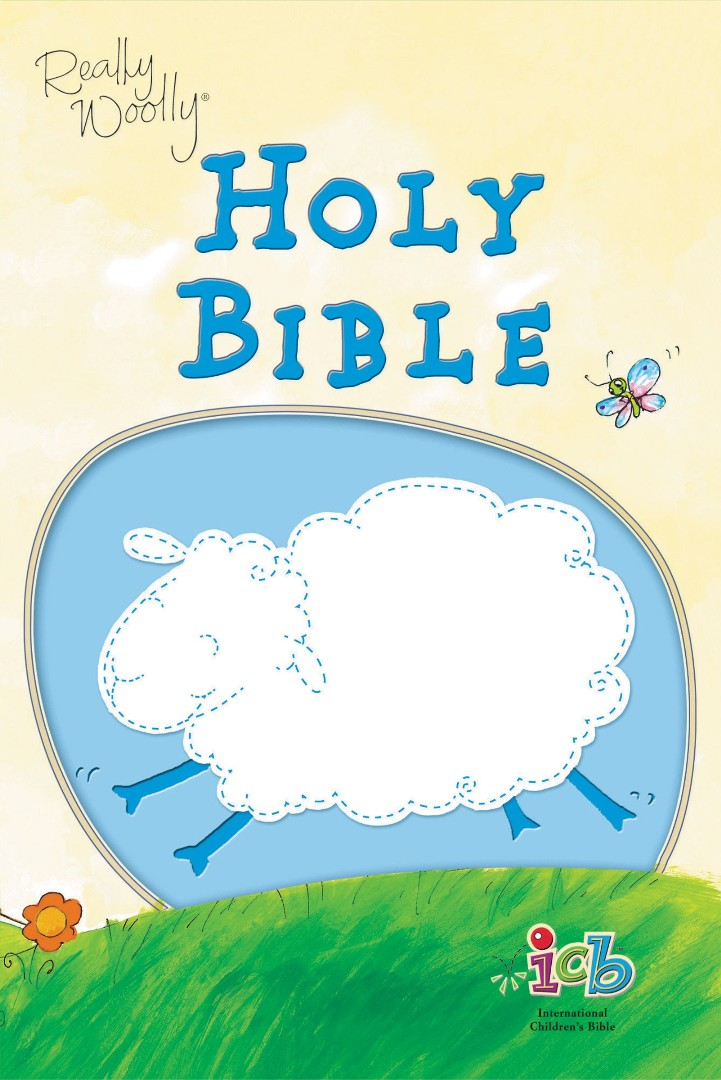 ICB Really Woolly Bible Blue