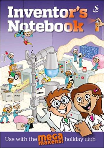 Mega Maker: Inventors Notes Pk10
