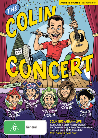 The Colin Concert DVD