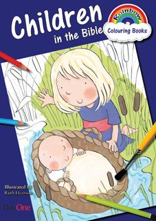 Children in the Bible Colouring Book