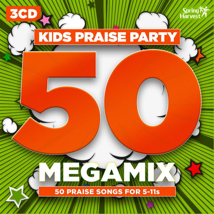 Kids Praise Party 50 Megamix CD: Spring Harvest 2016