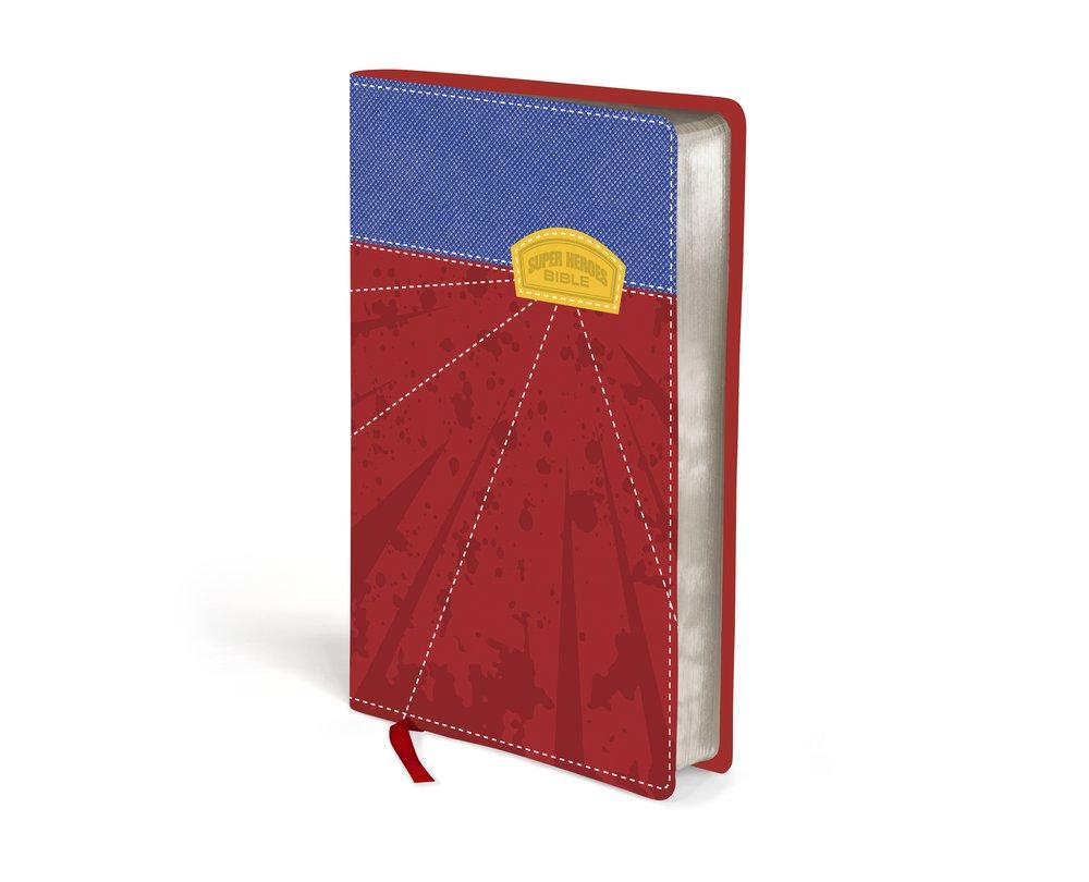 NIRV Super Heroes Backpack Bible