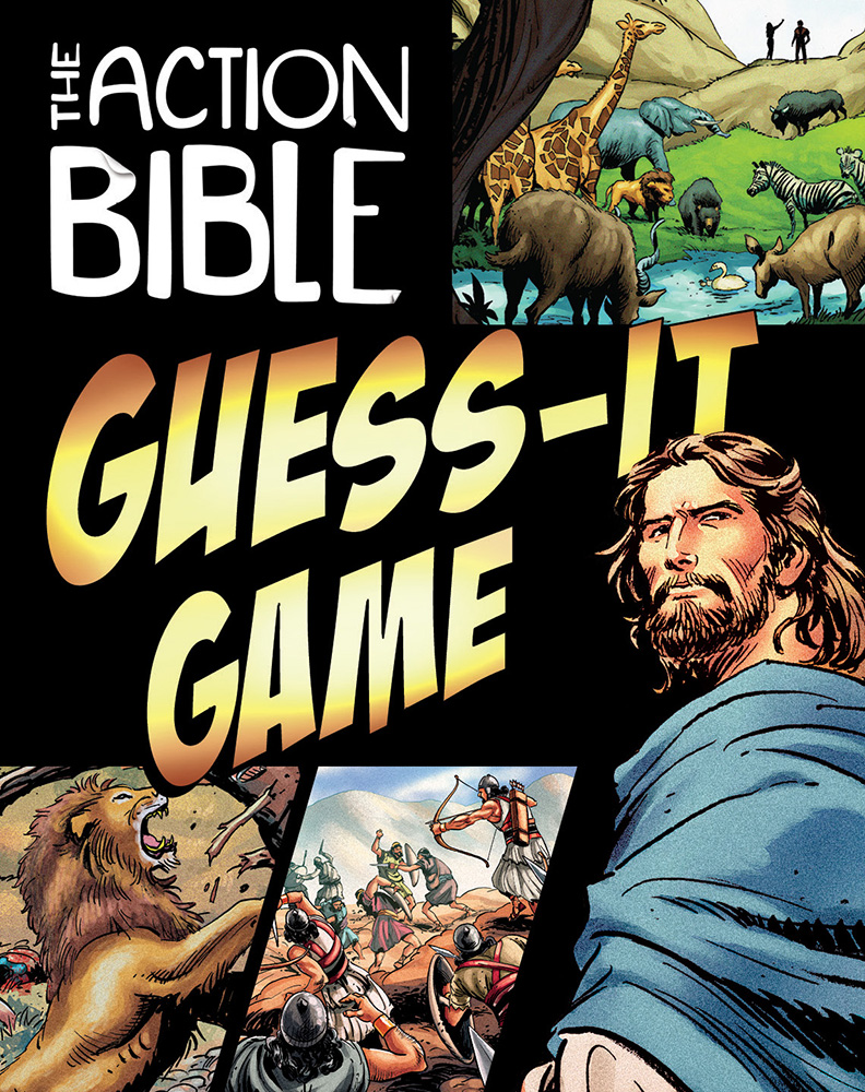 Action Bible Guess it Card Game
