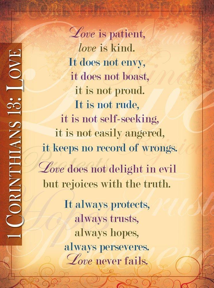 1 Corinthians 13           20x26