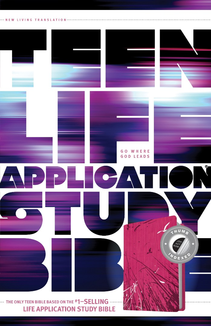 NLT Teen Life Application Study Bible; Indexed