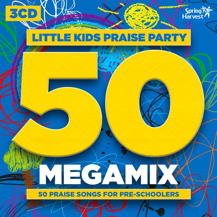 Little Kids Praise Party Megamix CD: Spring Harvest 2016