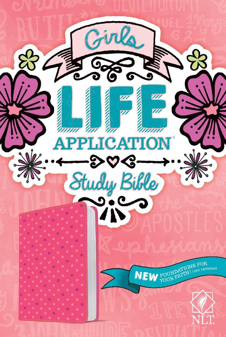 NLT Girls Life Application Study Bible