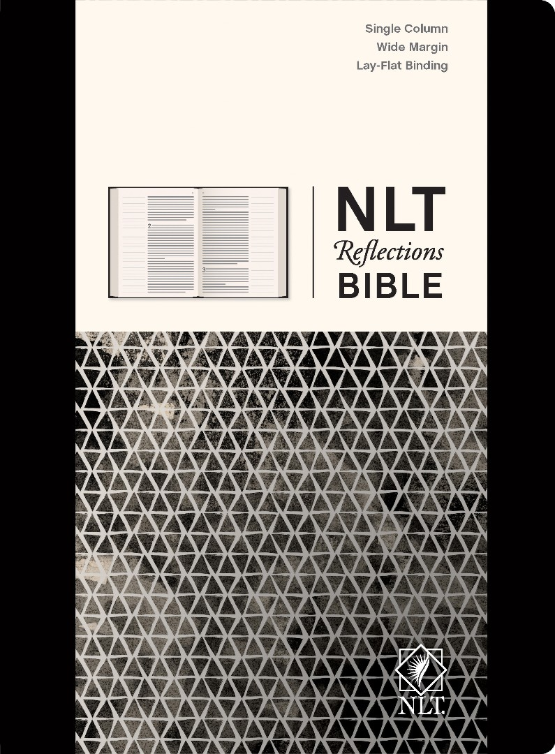 NLT Reflections Bible, Black